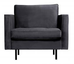 Afbeelding van product: BePureHome Rodeo Classic fauteuil velvet donkergrijs