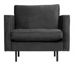 Afbeelding van product: BePureHome Rodeo Classic fauteuil velvet antraciet