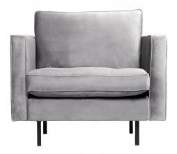 Afbeelding van product: BePureHome Rodeo Classic fauteuil velvet lichtgrijs