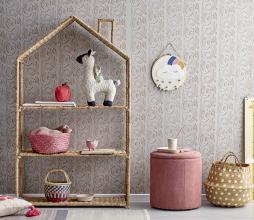 Afbeelding van product: Selected by Huis boekenkast bankuan gras naturel
