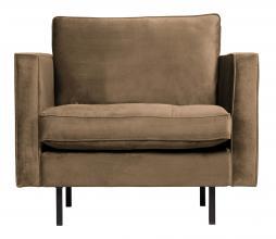 Afbeelding van product: BePureHome Rodeo Classic fauteuil velvet taupe