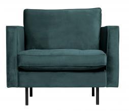 Afbeelding van product: BePureHome Rodeo Classic fauteuil velvet teal