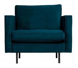 Afbeelding van product: BePureHome Rodeo Classic fauteuil velvet blauw