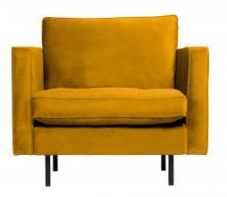 Afbeelding van product: BePureHome Rodeo Classic fauteuil velvet oker