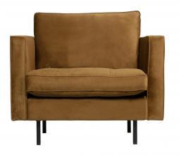 Afbeelding van product: BePureHome Rodeo Classic fauteuil velvet honing geel