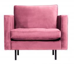 Afbeelding van product: BePureHome Rodeo Classic fauteuil velvet roze