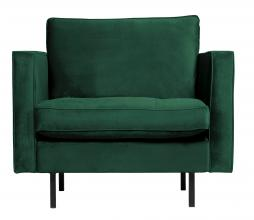 Afbeelding van product: BePureHome Rodeo Classic fauteuil velvet green forest