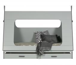 Afbeelding van product: WOOOD Tipi bed 90 x 200 cm grenen betongrijs