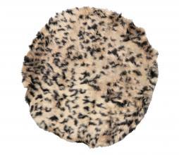Afbeelding van product: Safari vloerkleed ø80 cm beige/bruin
