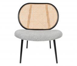 Afbeelding van product: Zuiver Spike fauteuil rotan naturel/grijs