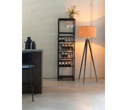 Afbeelding van product: Zuiver Cantor wijnkast S metaal zwart