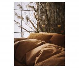 Afbeelding van product: Selected by Minte dekbedovertrek katoen leather brown 1-persoons (140x220cm)