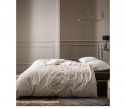 Afbeelding van product: Selected by Malou dekbedovertrek div. afmetingen katoen soft grey 200x220 cm