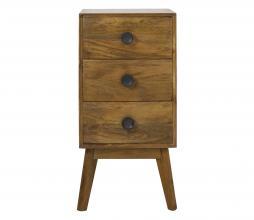 Afbeelding van product: Selected by Espita 3-ladenkast hout bruin