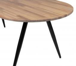 Afbeelding van product: WOOOD Tablo tafelblad ovaal 220x90 cm eiken grijze olie