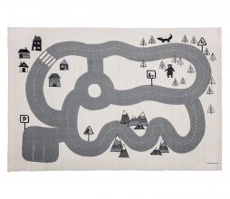 Afbeelding van product: Selected by Car vloerkleed 150x100 cm katoen grijs