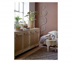 Afbeelding van product: Selected by Nature decoratie potten set van 2 paulowniahout bruin