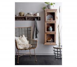 Afbeelding van product: Selected by vitrinekast 122x20x43 cm mangohout bruin