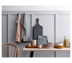Afbeelding van product: Selected by Serveerplank 70x25 cm acaciahout zwart