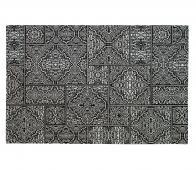 WOOOD Exclusive Renna vloerkleed 155x230 cm zwart/wit