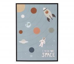 Afbeelding van product: Selected by Lijst space grenen zwart
