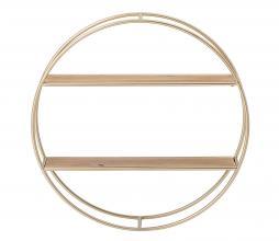 Afbeelding van product: Selected by Guil wandplank metaal goudkleurig
