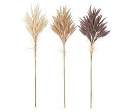 Afbeelding van product: Selected by Deco kunstbloemen set van 3 bruintinten