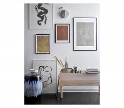 Afbeelding van product: Selected by Kunstlijst vrouw grenen zwart