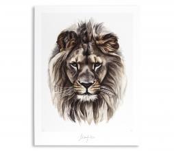 Afbeelding van product: Selected by Leo kunstposter 50x40 cm