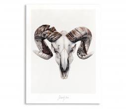 Afbeelding van product: Selected by Strenght kunstposter 70x50 cm