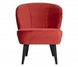 Afbeelding van product: WOOOD Sara fauteuil velvet raspberry