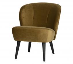 Afbeelding van product: WOOOD Sara fauteuil velvet army