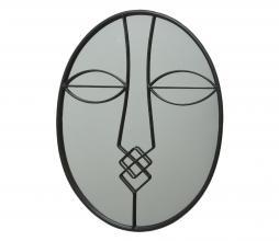 Afbeelding van product: Selected by Face spiegel 44,5x34 cm ijzer zwart