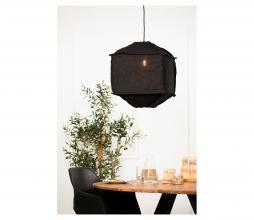 Afbeelding van product: vtwonen Titan hanglamp 50x50x60 cm linnen zwart