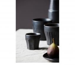 Afbeelding van product: House Doctor Berica espresso mok aardewerk zwart
