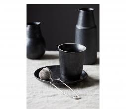 Afbeelding van product: Housedoctor Berica mok aardewerk zwart