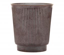 Afbeelding van product: House Doctor Berica mok aardewerk H10xØ9 cm bruin
