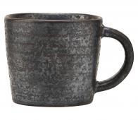 House Doctor Pion espresso beker porselein zwart/bruin