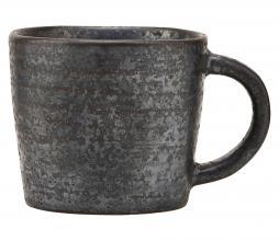 Afbeelding van product: House Doctor Pion espresso beker porselein zwart/bruin