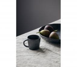 Afbeelding van product: Housedoctor Pion espresso beker porselein zwart/bruin