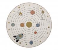 Selected by Space vloerkleed Ø130 cm multi