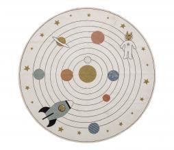 Afbeelding van product: Selected by Space vloerkleed Ø130 cm multi