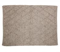Selected by Wool vloerkleed 200x140 cm wol bruin
