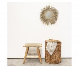Afbeelding van product: Selected by Zuri kruk hout/jute naturel
