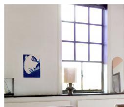 Afbeelding van product: HKliving lampenvoet L aardewerk charcoal
