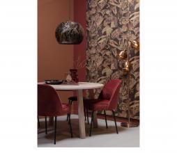 Afbeelding van product: BePureHome Vogue eetkamerstoel velvet chestnut