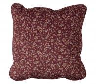 BePureHome Vogue - kussen 45x45 cm velvet sprinkle flower chestnut