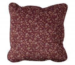 Afbeelding van product: BePureHome Vogue - kussen 45x45 cm velvet sprinkle flower chestnut