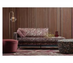 Afbeelding van product: BePureHome Vogue kussen ø45 cm velvet sprinkle flower chestnut
