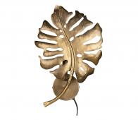 BePureHome Leaf wandlamp metaal antique brass